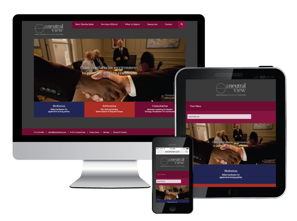 Responsive Website Design for A Neutral View