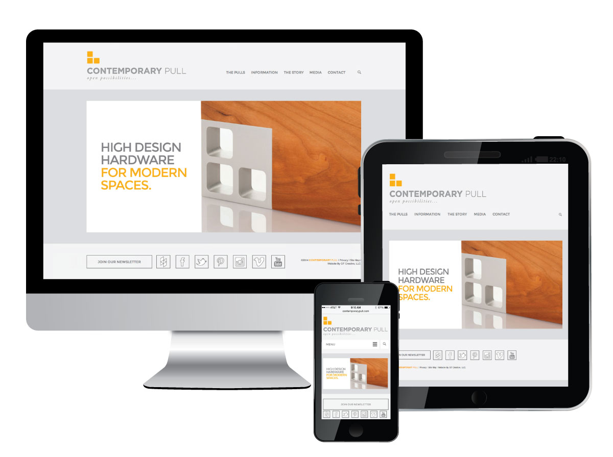 Responsive Website for Contemporary Pull