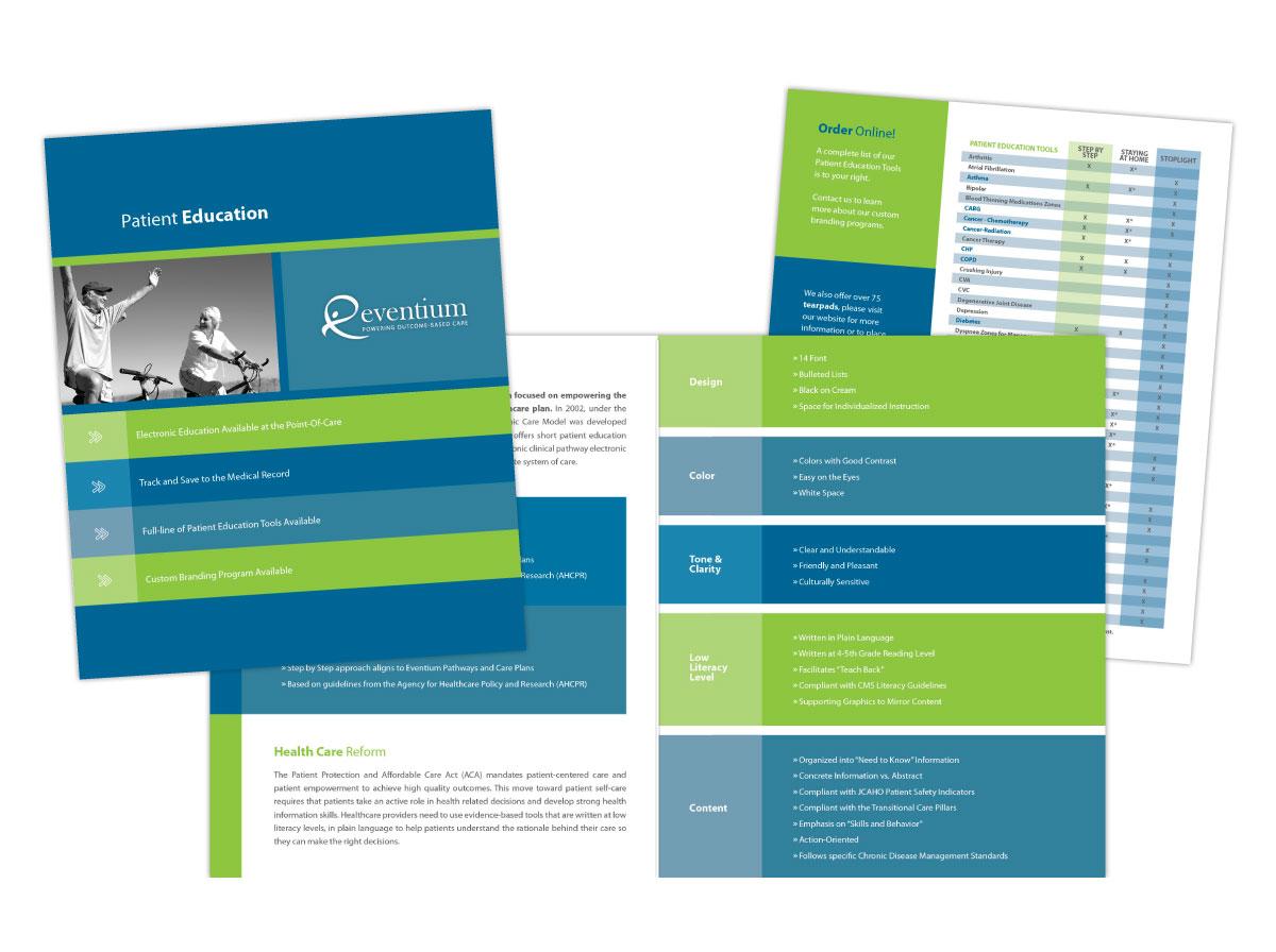 Half Fold Brochure for Eventium
