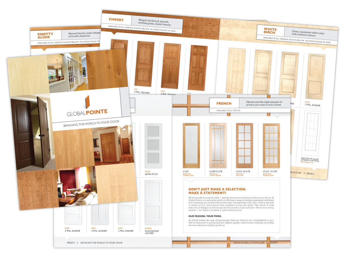 Door Product Catalog for Global Pointe Doors