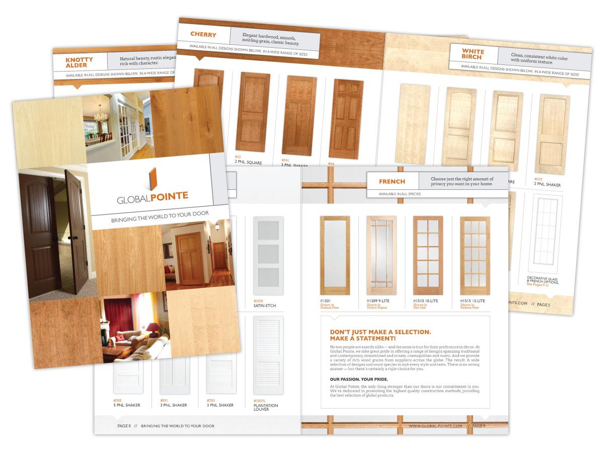 Door Product Catalog for Global Pointe Doors