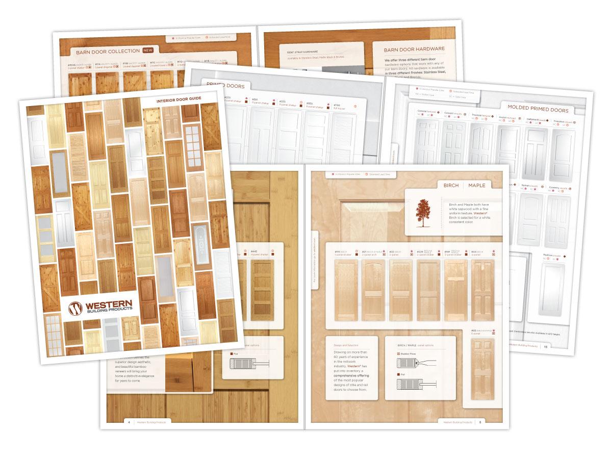 Catalog of Western Interior Doors Design