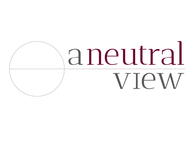 Branding and Logo Design for A Neutral View