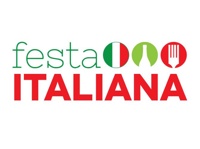 Logo Design for Festa Italiana Milwaukee