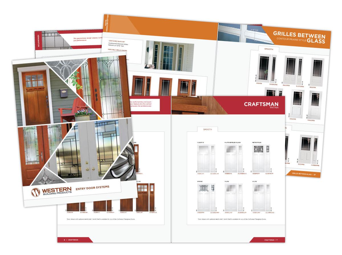 Large Catalog of Western Exterior Doors Design